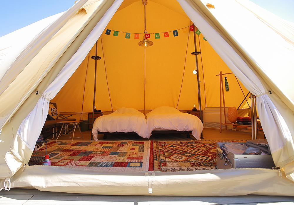 グランピングドームテント